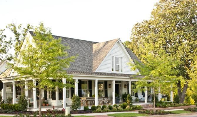 Wrap Around Porch House Plans Southern Living Home Design