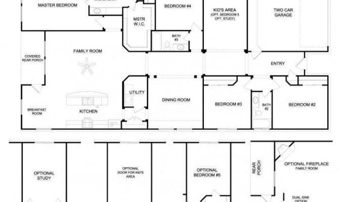 Wrap Around Porches Bedroom House Plans