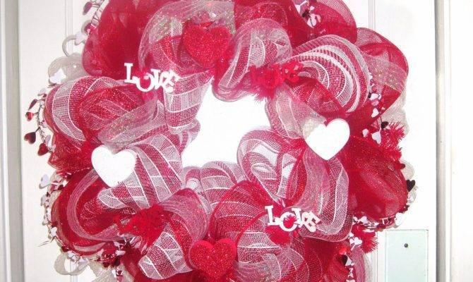 Wreaths Love Final Valentines Day Wreath