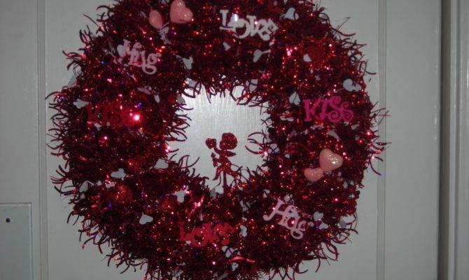 Wreaths Love Valentines Day Wreath