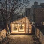 Wsd Architecture Inserts Writer Shed Into Back Garden