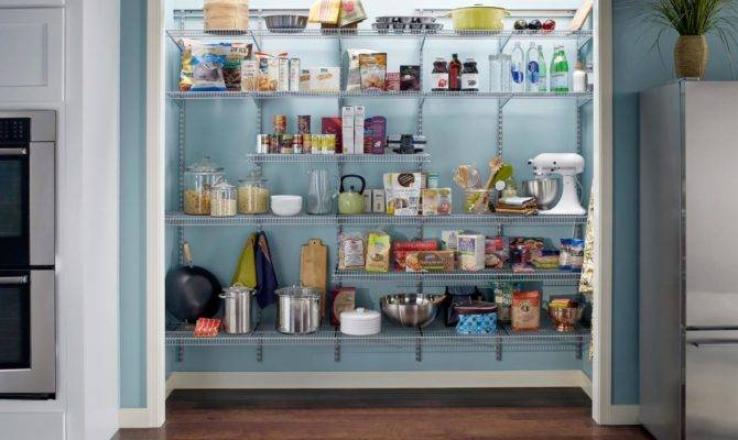 Your Kitchen Pantry Designs Choose Layouts