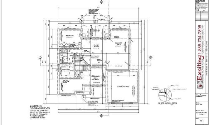 Your Plan Features Slab Construction Rather Than Basement