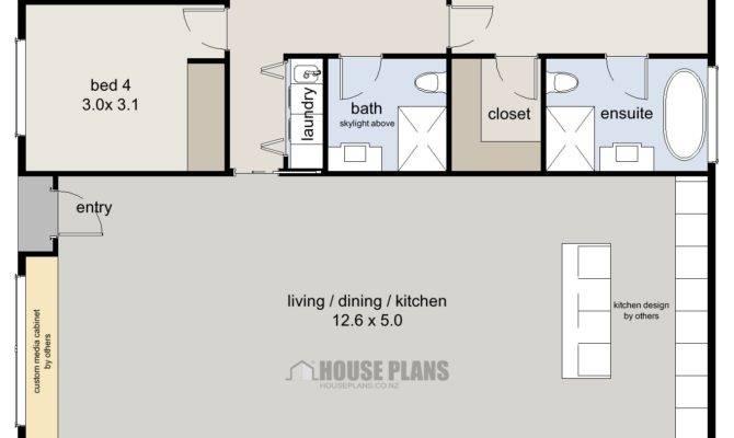 Zen Beach Bedroom House Plans New Zealand Ltd