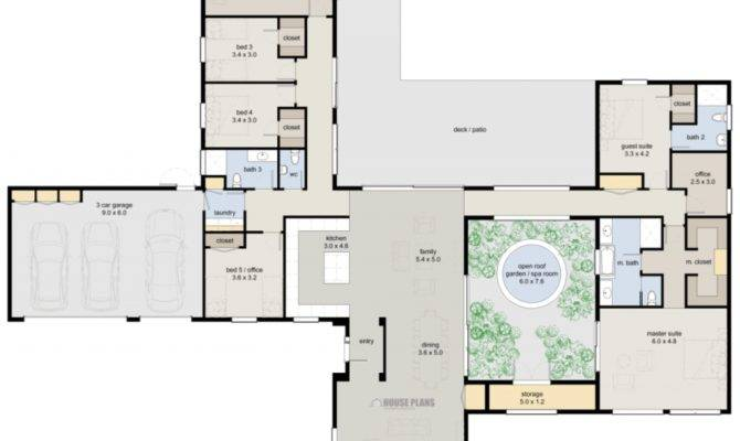 Zen Lifestyle Bedroom House Plans New Zealand Floor Plan