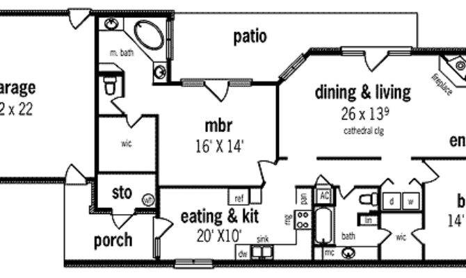 Zero Lot Line Design Floor Master Suite