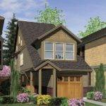 Zero Lot Line House Plan Home Style Pinterest