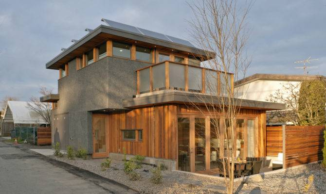 Zero Solar Laneway House Lanefab Design Build Small Bliss